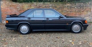 1988 Mercedes 190E 2.3 16v Cosworth W201 Manual UK RHD For Sale (picture 2 of 6)