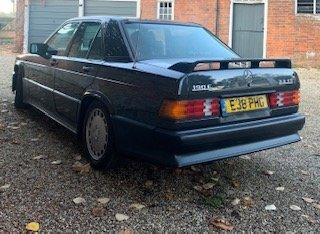 1988 Mercedes 190E 2.3 16v Cosworth W201 Manual UK RHD For Sale (picture 3 of 6)