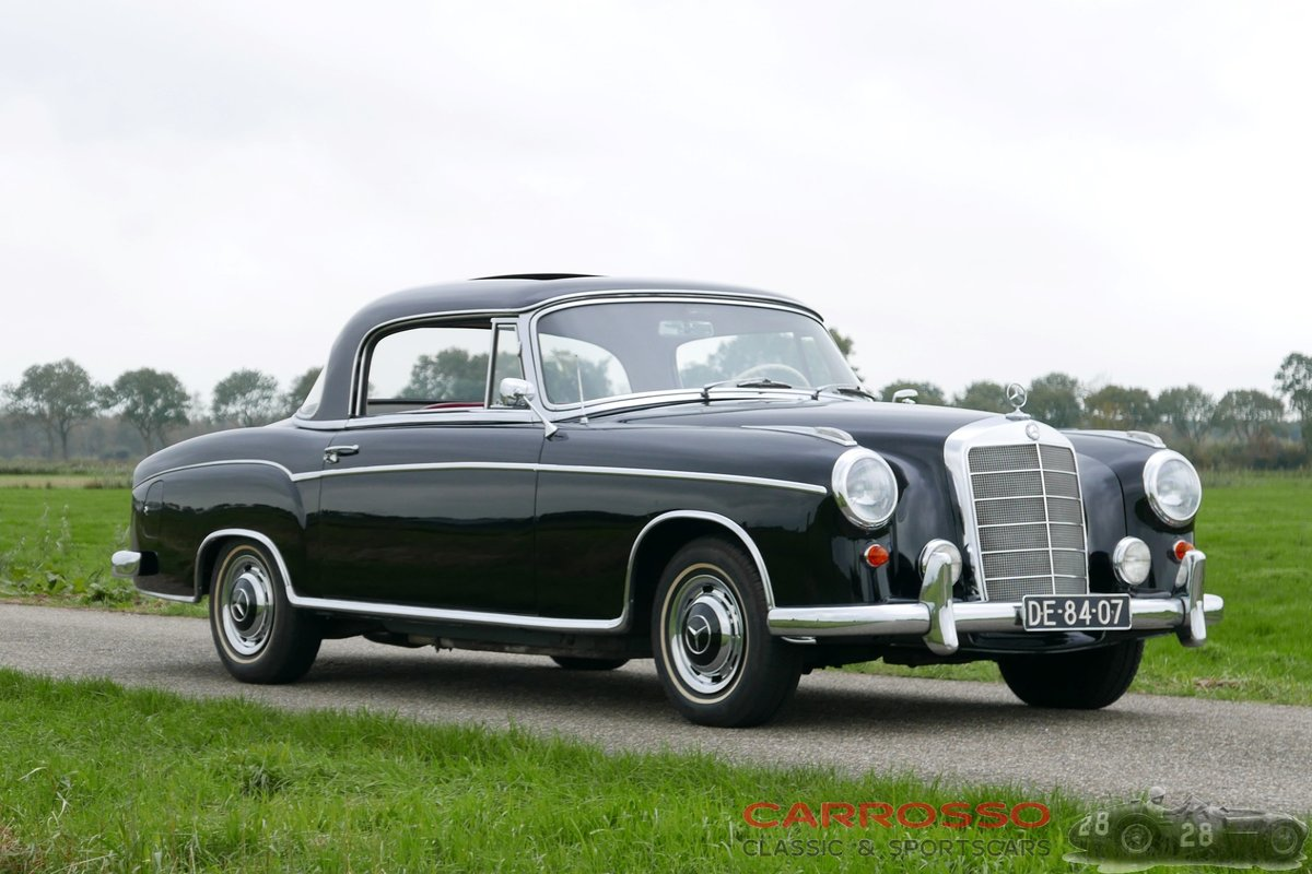 1960 Mercedes Benz 220 SE Coupé with only 89.764 Miles For Sale (picture 1 of 6)