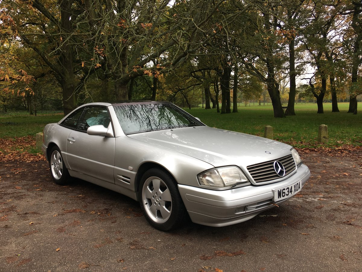 Mercedes SL320 V6 2000/W Auto Bargain For Sale (picture 2 of 6)