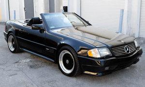 1991 Mercedes 500SL 6.0 Renntech SLammer Black $49k For Sale