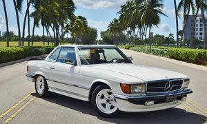 1983 Mercedes SL-Class 500SL AMG Roadster Rare 2 Tops For Sale