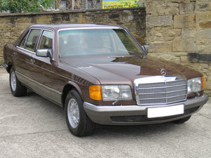 1981 Mercedes W126 500SEL - 1 P/0 - 63K Miles - FMBSH 36 Stamps For Sale