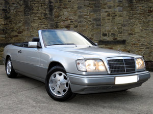 1997 Mercedes W124 E220 Auto Cabrio - 70K - FSH - 3 P/O- Superb For Sale