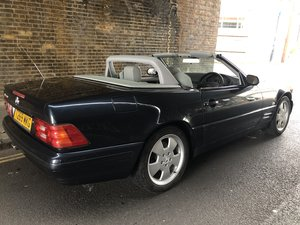 1999 Mercedes SL280 R109 facelift