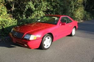 1996 Mercedes 320 SL Roadster Convertible 6-cyls Auto $9.9k For Sale