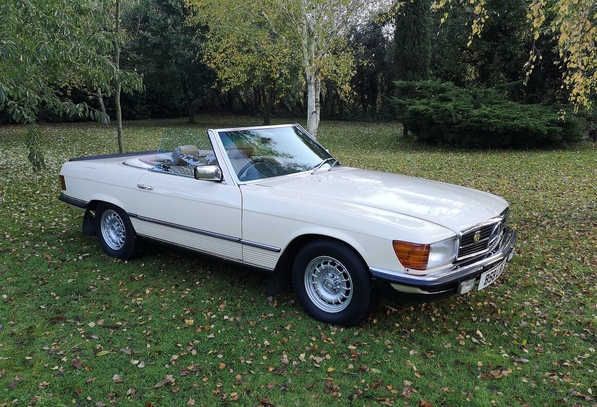 1984 Mercedes Benz 280SL r107 For Sale (picture 1 of 6)