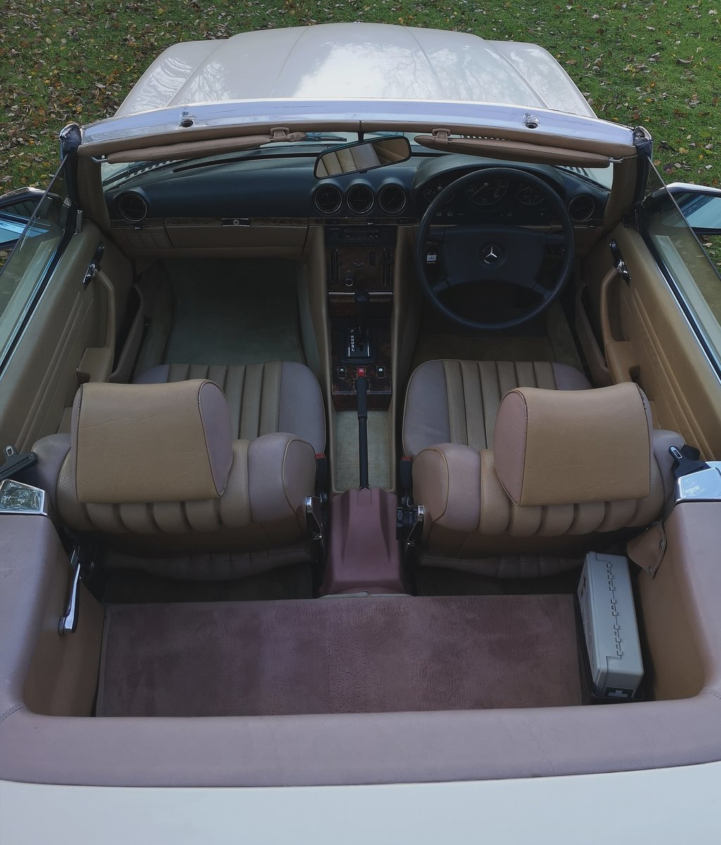 1984 Mercedes Benz 280SL r107 For Sale (picture 4 of 6)