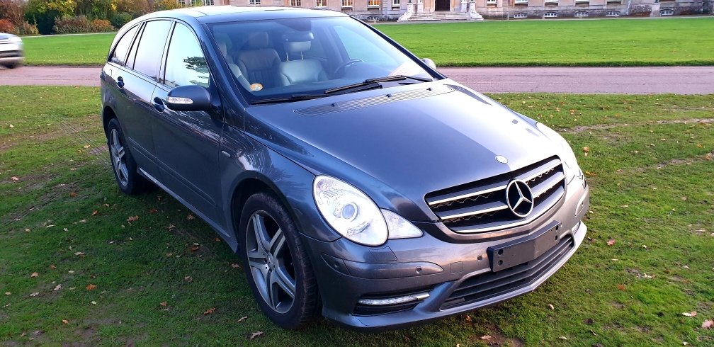 2009 LHD MERCEDES R300 CDI, AMG SPORT, LEFT HAND DRIVE For Sale (picture 2 of 6)