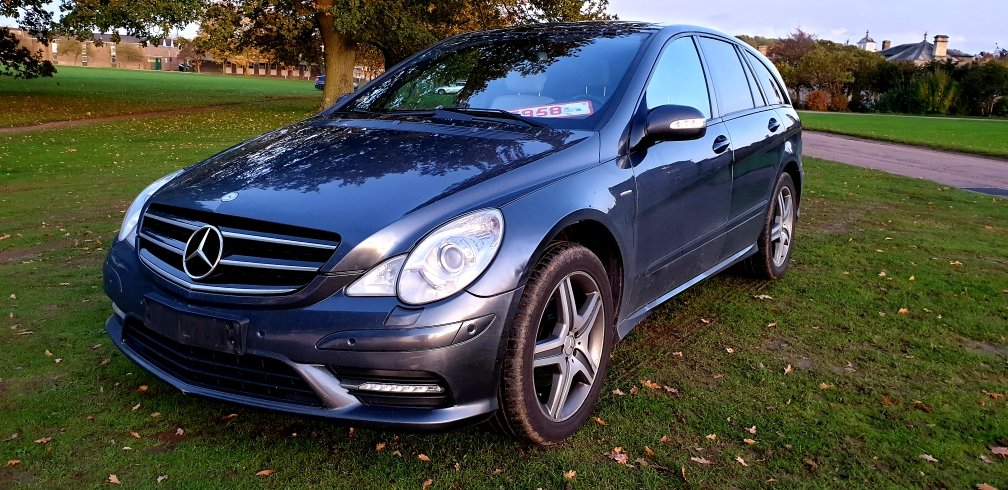 2009 LHD MERCEDES R300 CDI, AMG SPORT, LEFT HAND DRIVE For Sale (picture 3 of 6)
