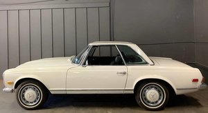 1970 Mercedes 280 SL Pagoda Convertible Ivory 2 Tops AT $67. For Sale