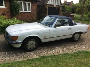 1987 SL 500  For Sale