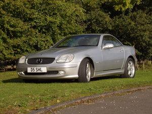 2003 Mercedes SLK230 - Only 40400 miles FSH 3 keepers