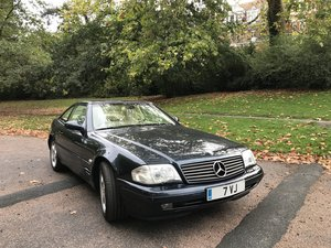 2000 Mercedes-Benz SL320 - One owner and FMBSH - Superb Car