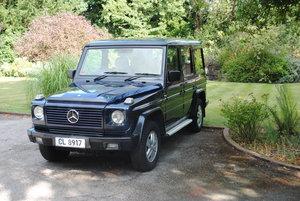 1991 Mercedes G - Wagen Wagon 463 300 G E L  RHD