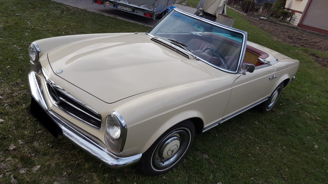 1965 Mercedes Benz 230SL Pagoda LHD For Sale (picture 2 of 6)