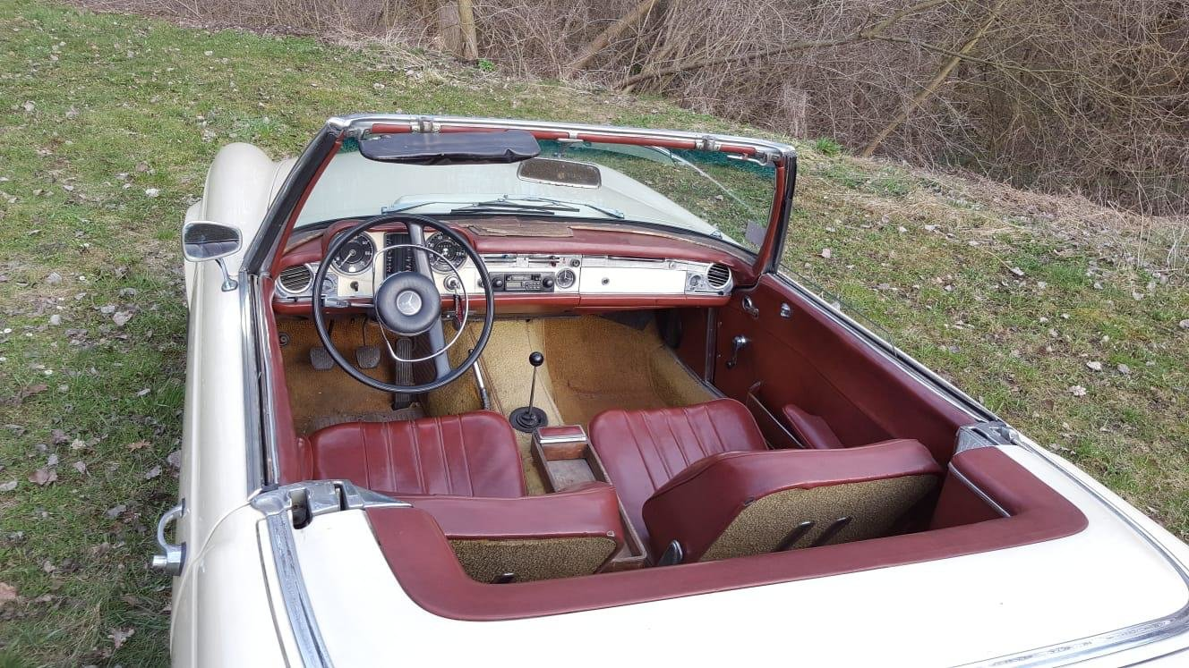 1965 Mercedes Benz 230SL Pagoda LHD For Sale (picture 4 of 6)