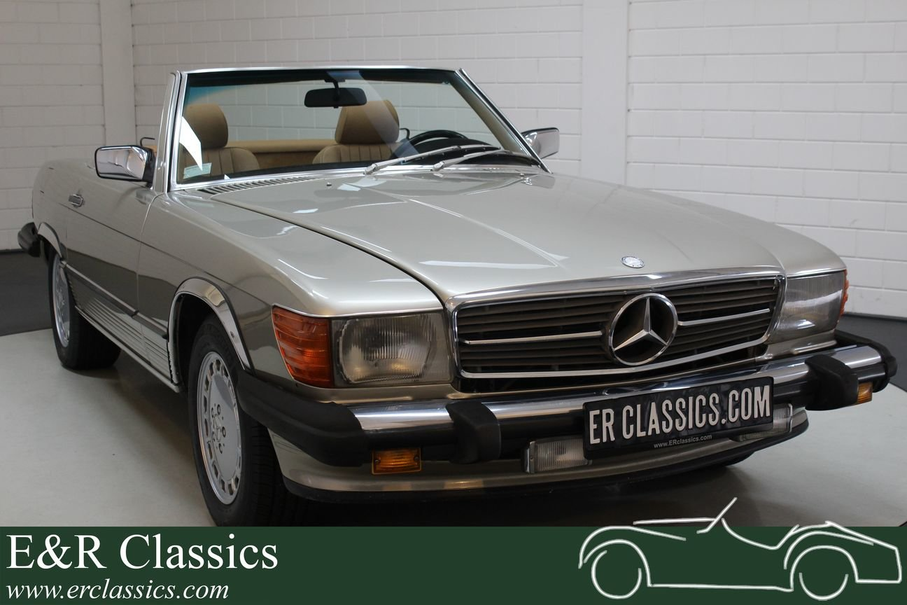 Mercedes-Benz 560 SL Roadster 1986 Top condition For Sale (picture 1 of 6)