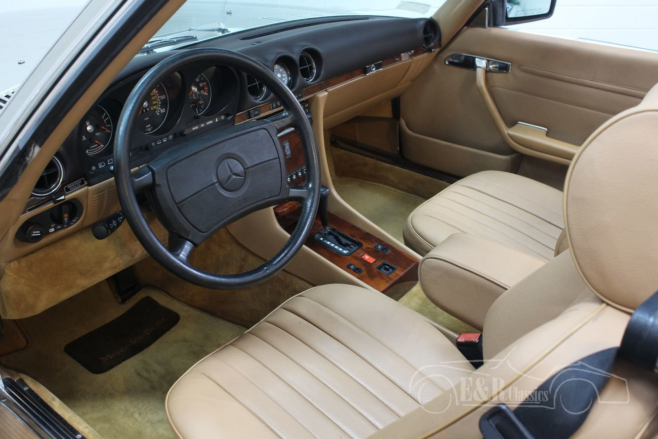 Mercedes-Benz 560 SL Roadster 1986 Top condition For Sale (picture 3 of 6)