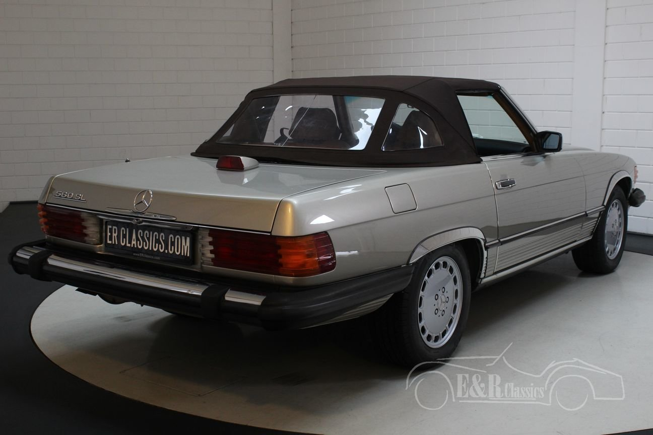 Mercedes-Benz 560 SL Roadster 1986 Top condition For Sale (picture 5 of 6)
