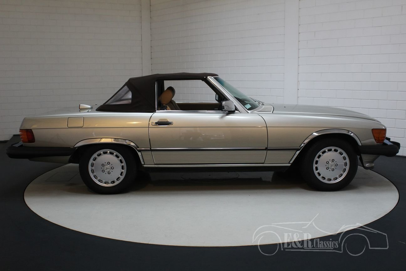 Mercedes-Benz 560 SL Roadster 1986 Top condition For Sale (picture 6 of 6)