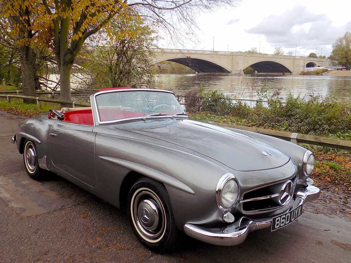 1960 MERCEDES 190 SL ROADSTER - LHD - RESTORED SOLD (picture 1 of 6)