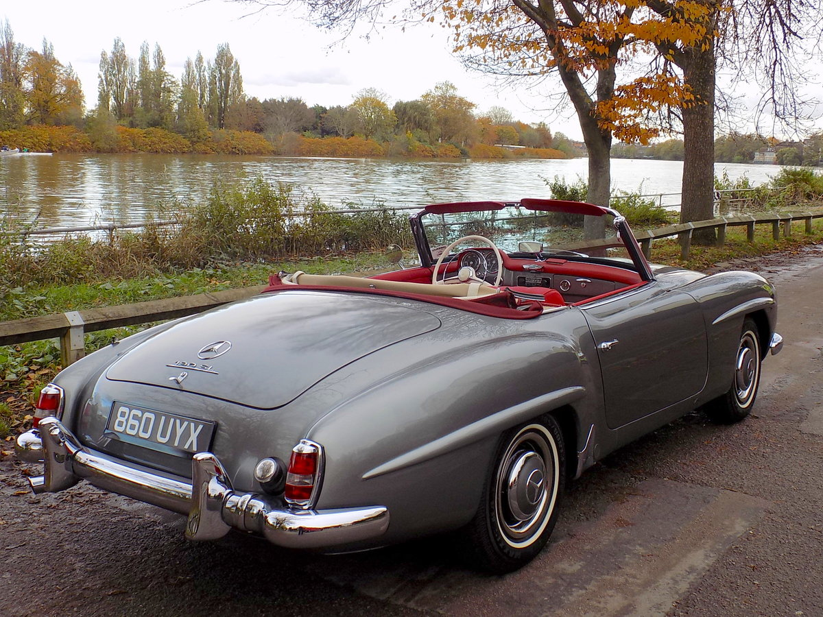 1960 MERCEDES 190 SL ROADSTER - LHD - RESTORED SOLD (picture 5 of 6)