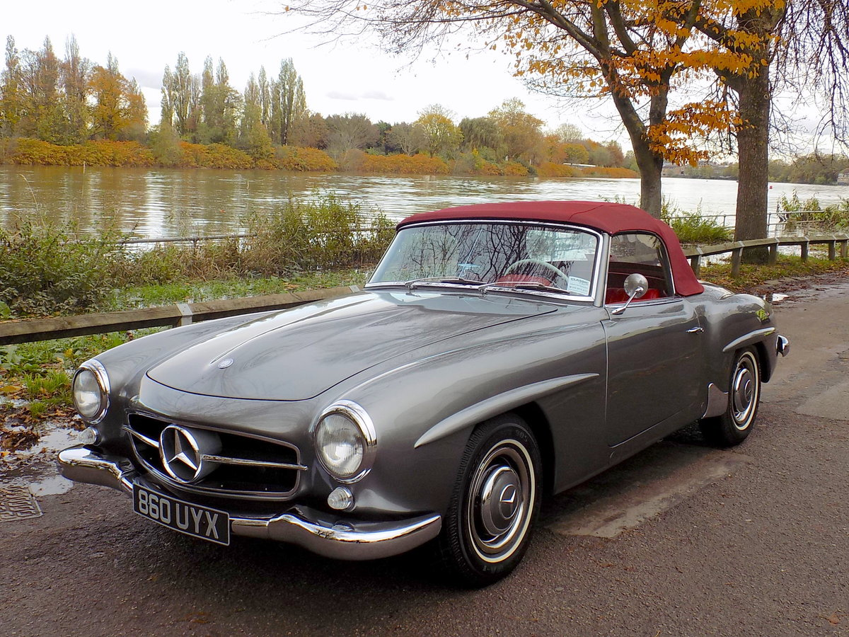 1960 MERCEDES 190 SL ROADSTER - LHD - RESTORED SOLD (picture 6 of 6)
