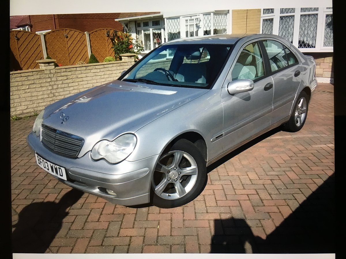 2003 Mercedes Benz C Class C180 - 1 Previous owner For Sale (picture 1 of 5)