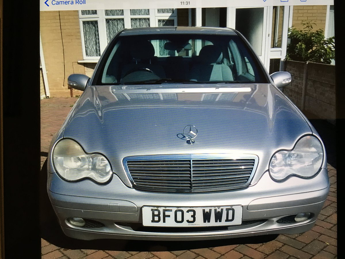 2003 Mercedes Benz C Class C180 - 1 Previous owner For Sale (picture 3 of 5)