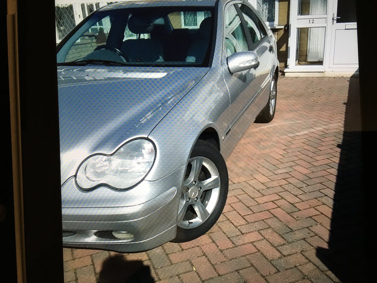 2003 Mercedes Benz C Class C180 - 1 Previous owner For Sale (picture 4 of 5)