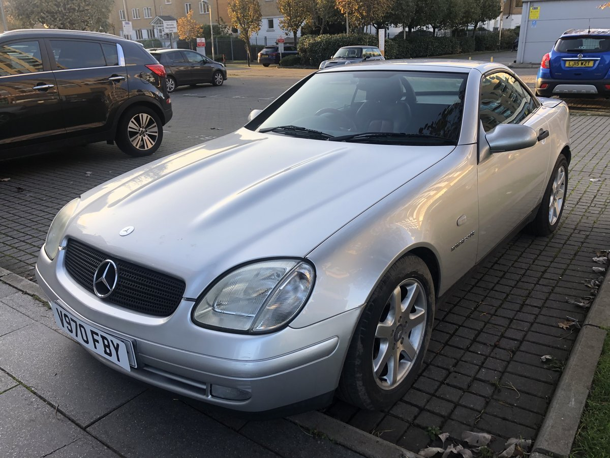 1999 Mercedes SLK 230 Automatic  SOLD (picture 2 of 6)