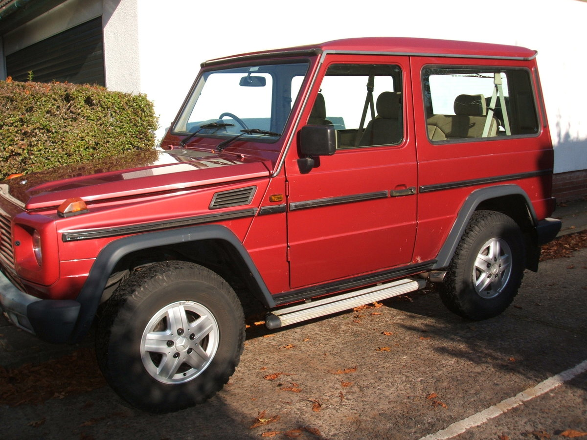 1992 Mercedes G Wagen 300GE. SWB 4x4 PRICE DROP £10,999 SOLD (picture 1 of 6)