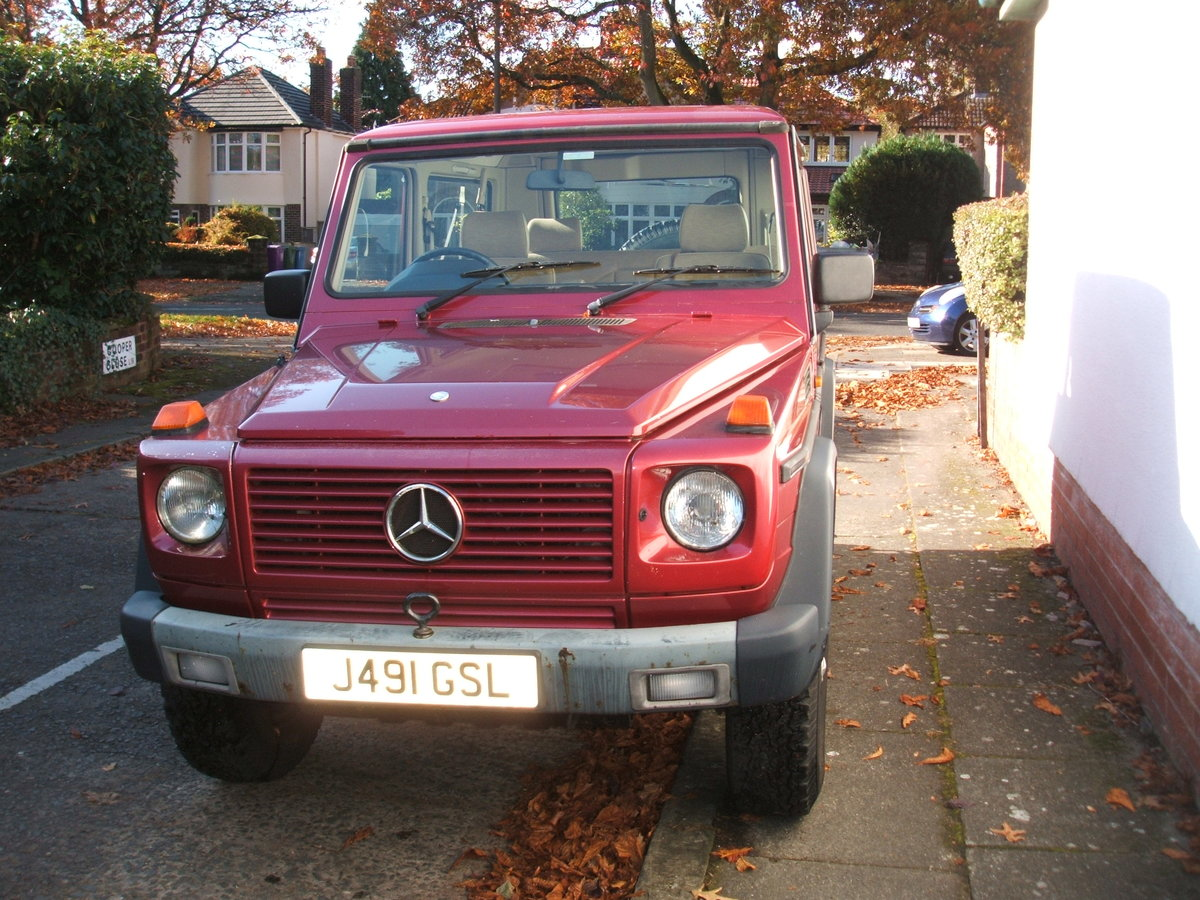 1992 Mercedes G Wagen 300GE. SWB 4x4 PRICE DROP £10,999 SOLD (picture 5 of 6)