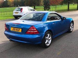 2000 Mercedes SLK V6 320 SOLD