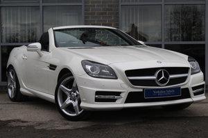 2012 62 MERCEDES-BENZ SLK 1.8 SLK200 BLUEEFFICIENCY AMG SPORT For Sale