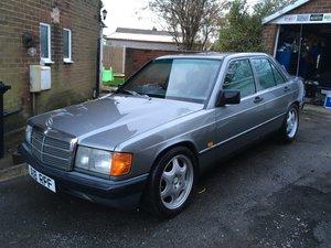 1987 Mercedes 190D 2.5 5 speed manual grey