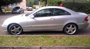 2002 Mercedes clk 320  mint condition For Sale
