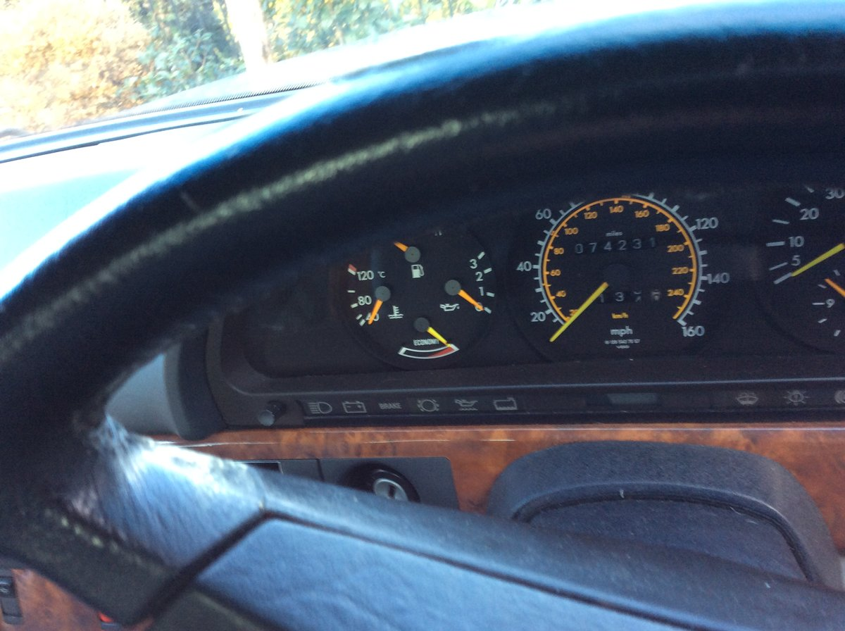1989 SE Series Well cared fo car SOLD (picture 4 of 6)