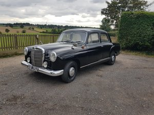 1959 Mercedes-Benz 190b 'Ponton' Saloon