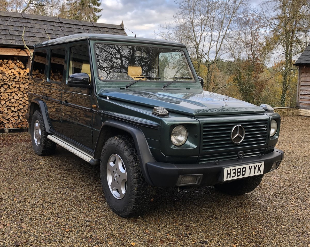 1991 Mercedes-Benz G-wagen 300 GEL Auto For Sale (picture 1 of 6)