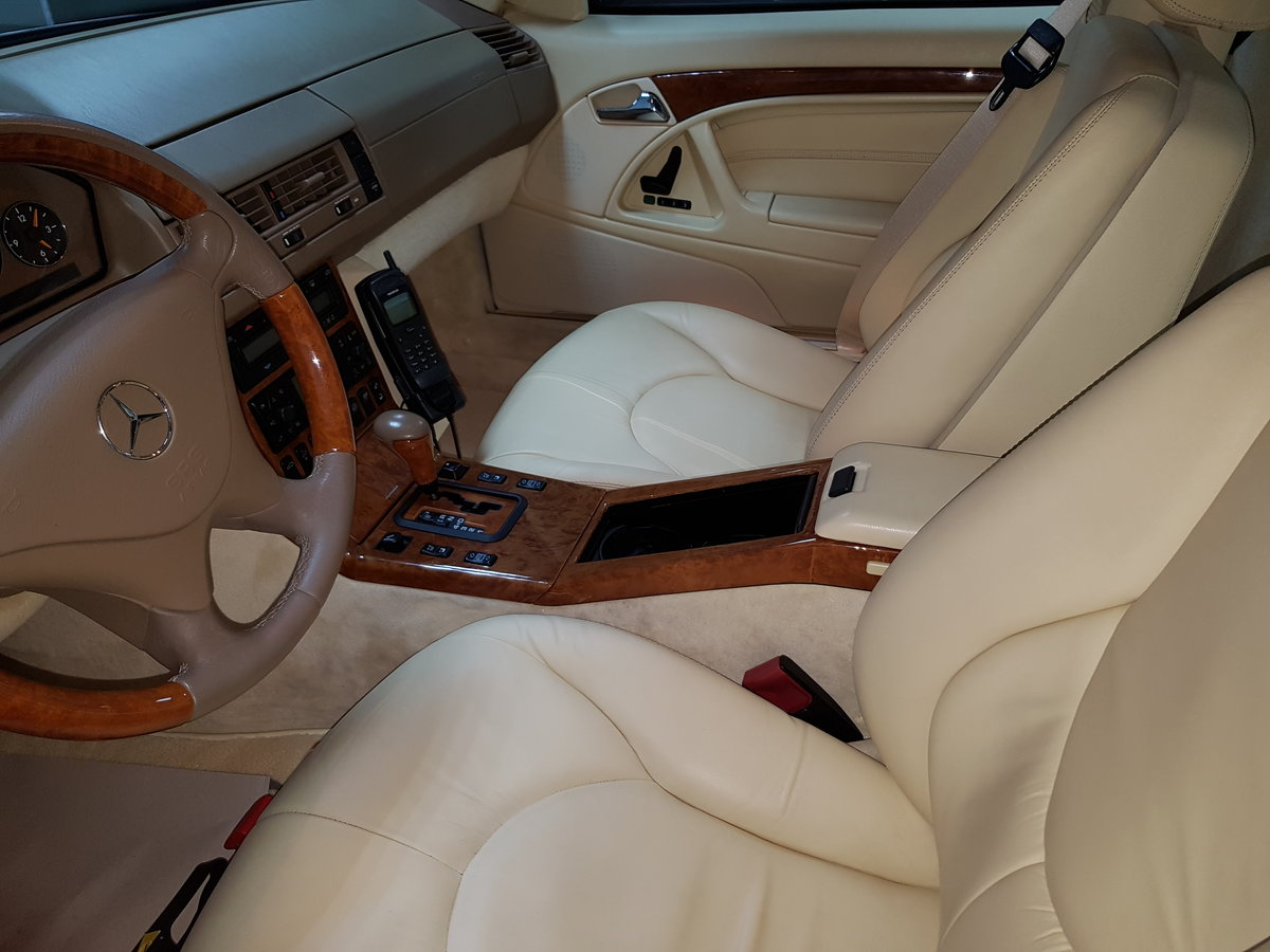 1994 Mercedes Benz SL600 V12 For Sale (picture 4 of 6)