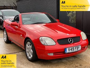 1999 Mercedes-Benz SLK 2.3 SLK230 Kompressor Kompressor 2dr AUTO For Sale