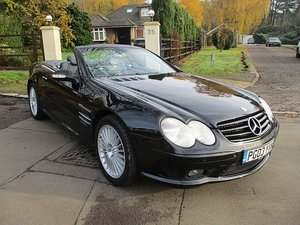 MERCEDES SL55 AMG 2003    83,000 TOP SPEC ULEZ COMPLIANT For Sale