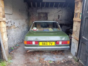 1980 Mercedes 230 Auto in green. For Sale