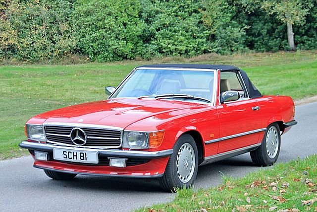 1989 Mercedes Benz 300SL (Only 48, 000 Miles) For Sale (picture 1 of 6)