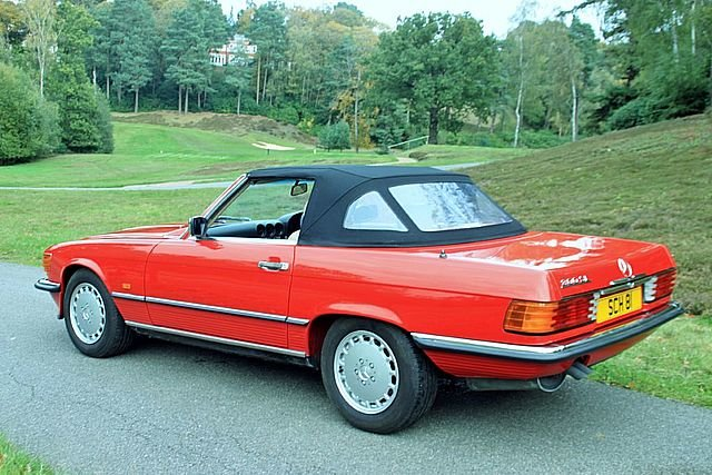 1989 Mercedes Benz 300SL (Only 48, 000 Miles) For Sale (picture 2 of 6)