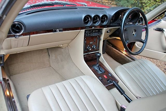1989 Mercedes Benz 300SL (Only 48, 000 Miles) For Sale (picture 4 of 6)