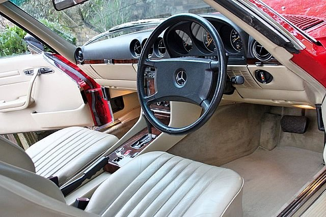 1989 Mercedes Benz 300SL (Only 48, 000 Miles) For Sale (picture 5 of 6)