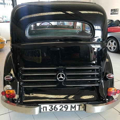 1938 Mercedes 2300, Mercedes W143, Mercedes Limousine For Sale (picture 2 of 6)